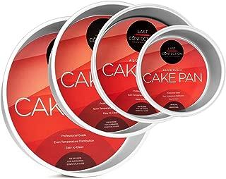 Last Confection 4-Piece Round Cake Pan Set - Includes 6