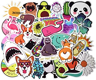 EKIND Not Repeat Graffiti Stickers for Tablet Skateboard Car Decals Bicycle (50Pcs, Small Fresh)