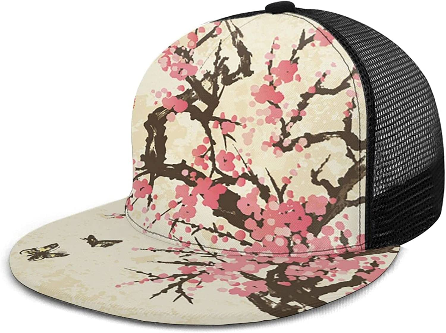 LvMinYi Baseball Now free shipping Cap Unisex Hat Trucker Adjustable In a popularity Snapback
