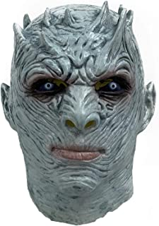 The Night's King Mask Game of Thrones Halloween Horror Costume Latex Blue