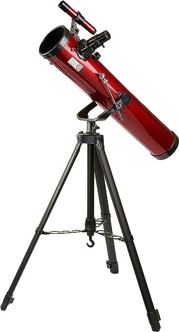 Carson Red Planet 35-78x76mm Newtonian Reflector Telescope (RP-100) , Black