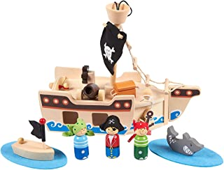wooden pirate toys
