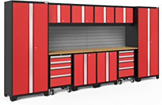 NewAge Products Bold 3.0 Red 12 Piece Set, Garage Cabinets, 56375