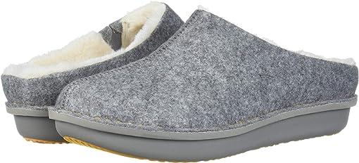 Grey Felt/Faux Fur