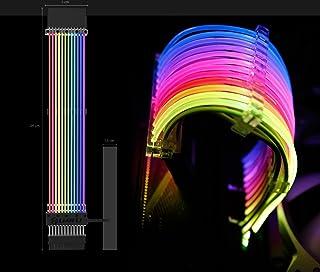 LIANLI Strimerシリーズ 世界初光る電源延長ケーブル Strimer24pin 日本正規代理店品