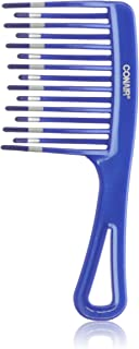 Conair Comb Detangle, 3.2 Ounce, Colors may vary, 1 Pack