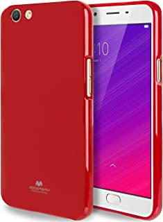 GOOSPERY Marlang Marlang Oppo F1S / A59 Case, Free Screen Protector [Slim Fit] TPU Case [Flexible] Pearl Jelly [Protection...