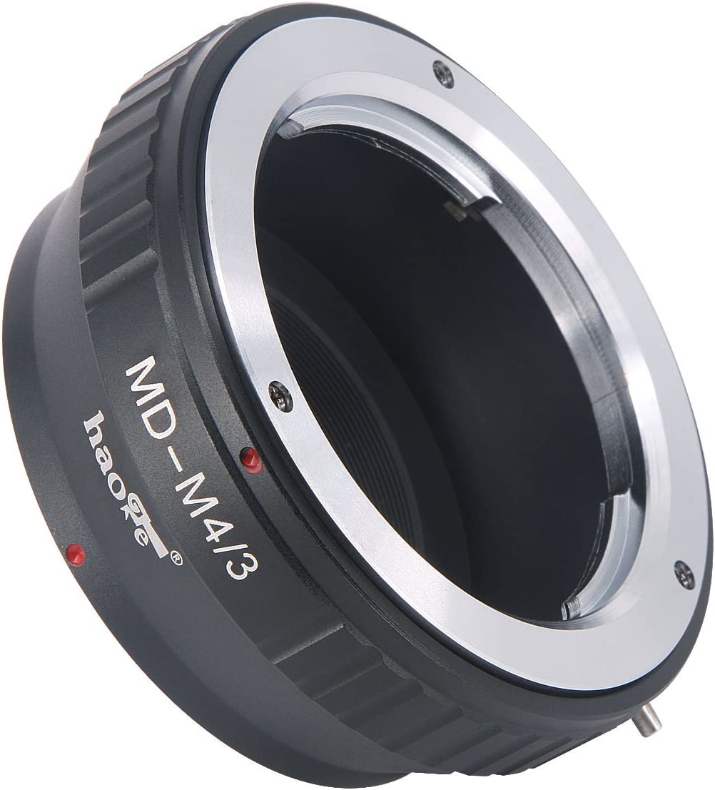 Large-scale sale Haoge Manual Lens Mount Adapter Challenge the lowest price for MC Rokkor Minolta L MD