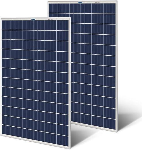 Luminous Solar Panel (105 watt) - Pack of 2, Aluminium