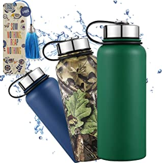Lightning Deal Insulated Tumbler-Double Wall Stainless Steel Travel Coffee Mug, Thermo Cup No Sweat Water Flask Vacuum Bottle, BPA Free | FDA,Thanksgiving,Christmas,Black Friday(32 oz, Forest Green)
