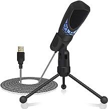 Tonor PC Micrófono para Juegos Condensador Profesional Grabación de Streaming MICR para Ordenador Portátil Windows Mac con la Tecnología de Eliminación de Ruidos
