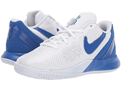 Nike Kids Kyrie Flytrap II (Little Kid) (White/Game Royal) Boys Shoes