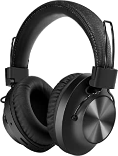 Nia Bluetooth 5.0 Over- Ear Wireless Headphones, FM Radio, MP3 Player and Micro SD/TF with 40mm...