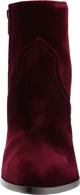FRYE Flynn Short Inside Zip, Bottine Femme Bordeaux