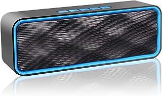 comprar comparacion Aigoss Altavoz Bluetooth Portátil Inalámbrico Estereo Exteriores con Audio HD Altavoz de Doble Controlador Integrado, Blue...