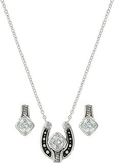 Montana Silversmiths Follow Your Path Horseshoe Jewelry Set