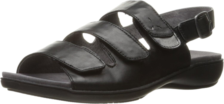 Trotters Woherren Kendra Wedge Sandal, schwarz, 5 M US