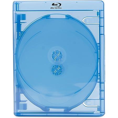 5 x Amaray Estuche Blu-ray de 5 Discos 21mm