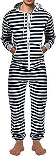 SKYLINEWEARS Men's Fashion Onesie Printed Playsuit Jumpsuit