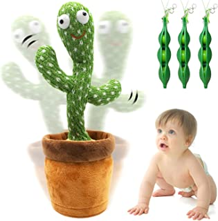 Dancing Cactus Plush Toy – By REIMAS | Sings 120 Songs, Glow & Repeat words for Fun Early Education Toy | Cute Dance Doll ...