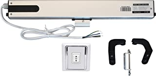 SimpleSmart 10cm-40cm Adjustable Electric Chain Window Opener Automatic Windows Opener Motor Actuator (110V Window Opener Kit with Wall Switch ONLY)