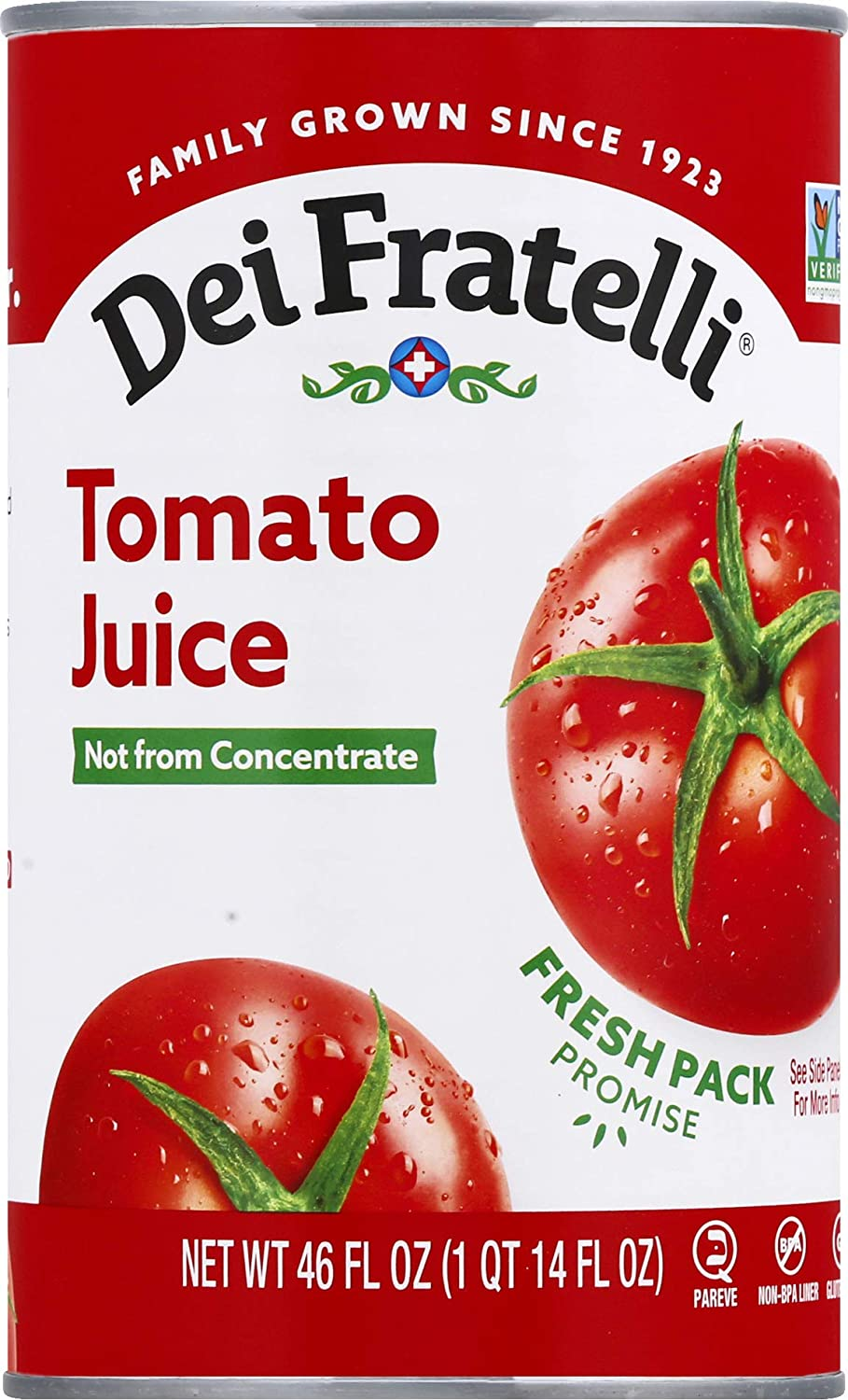 Dei Fratelli - Tomato 46oz pack 6 safety Outlet SALE Juice
