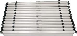"Adir 36"" Blueprint File, Aluminum Hanging Clamps, 6 Pack (6046)"