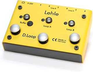 Lehle D-Loop Stereo Effects Looper/Switcher
