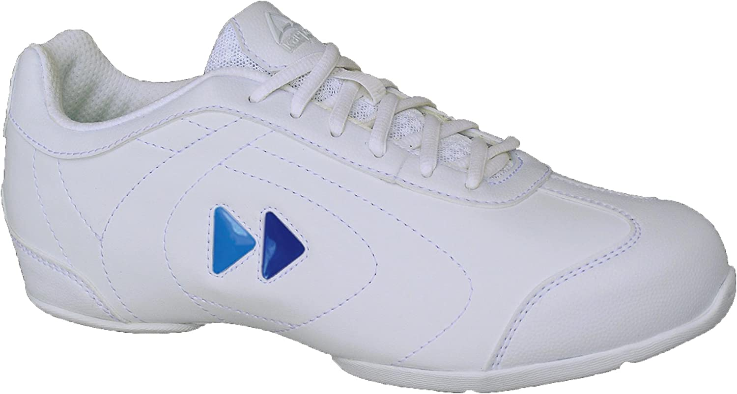 Kaepa Women's Delta Cheer shoes with color Change Snap in Logo