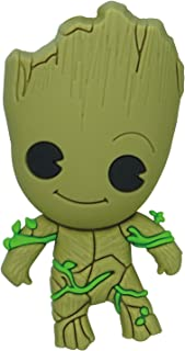 Marvel Guardians of The Galaxy Groot 3D Foam Magnet,Multi-colored,3""