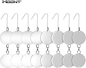Hoont Bird Repellent and Deterrent Discs Set – 16 Discs Value Set – Reflective Disc Keeps All Birds Away from Your Property – Effective for Pigeons, Woodpeckers, Sparrows and Most Other Birds
