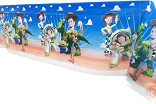 """Party Nice Toy Story Party Decorations – Disposable Plastic Tablecloth 