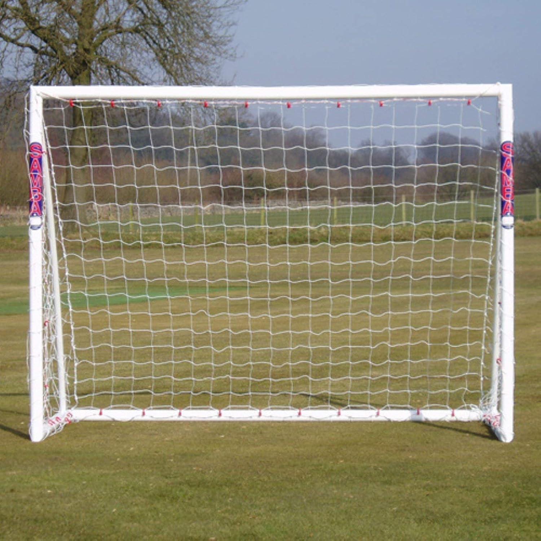 Samba Soccer Goal - Department store Training Grade The uPVC Award 8x6- Premier Locking