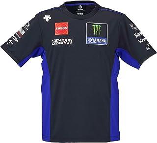 ヤマハ(Yamaha) Tシャツ MotoGP ヤマハ ファクトリーレーシング オフィシャルチームウェア デサント 2020年モデル ブルー×ブラック Oサイズ Q5D-YSK-749-00X