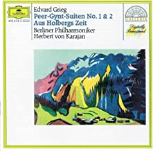 Grieg: Peer Gynt Stes Nos.1 & 2 / From Holberg's Time