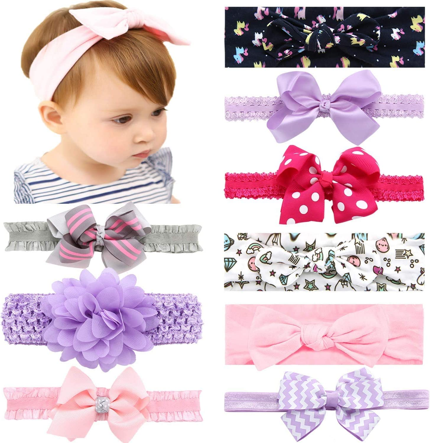 Hair Bows Baby Shower Gift Birthday Gift You can choose the colors Headband Velvet Bow Headbands-Newborn Headbands Baby Girl Headbands