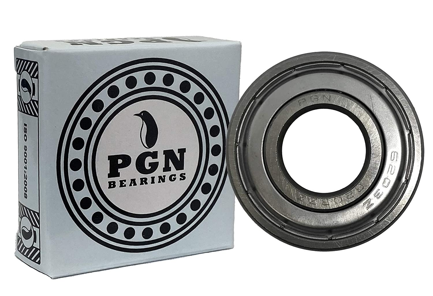 10 Pack Store PGN 6203-ZZ Shielded C3-17x40x12 Ball - Outstanding Bearing Lubr