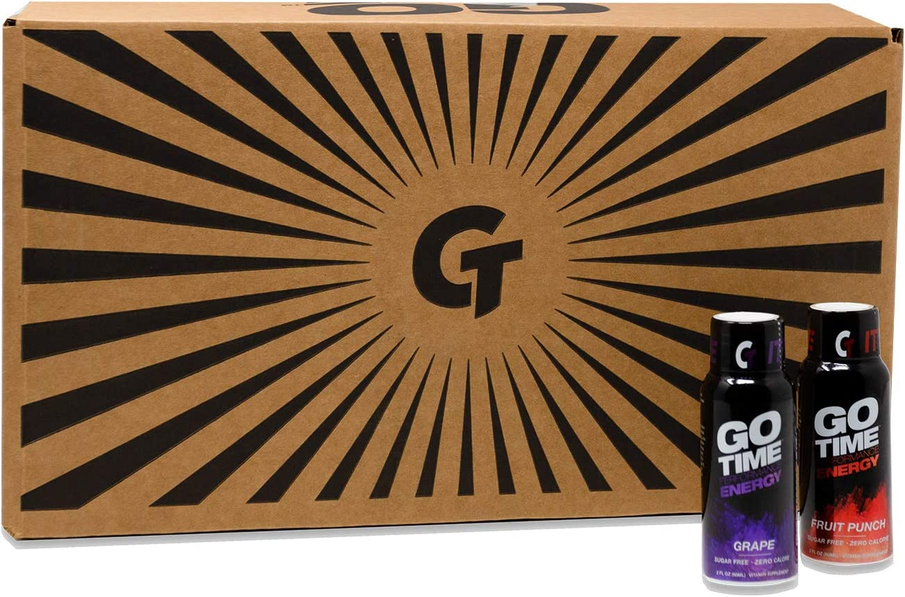 Go Time Performance Energy Cheap mail order sales Drink Zer Shot Sugar Zero Ranking TOP2