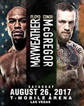 conor vs mayweather poster
