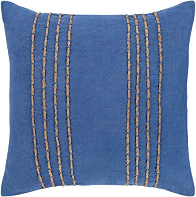 Amazon.com: cyan design ganchillo almohada: Home & Kitchen
