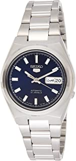 Seiko Men's Automatic Watch, Analog Display and Stainless Steel Strap SNKC51J1