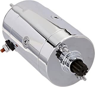 Db Electrical Shi0011-C Chrome Starter For Harley  31570-73, 31570-73B,Electra Glide, Tour Glide, Low Glide, Custom,Wide Glide, Springer Softail,Super Glide Disc Glide, Liberty, Many Years