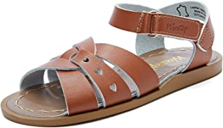Weestep Gilrs Hook and Loop Leather Calssic Water Sandal