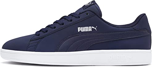Puma Unisex's Smash V2 Buck Peacoat Silver-p Sneakers