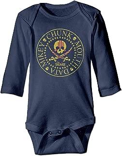 Fashion Italian American Flag Love Sleepwear Long Sleeve Cotton Bodysuit for Baby Boys and Girls