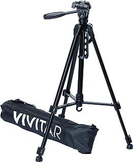 Tripé para Câmera Fotográfica com Ajuste de Altura até 1.45 m, Vivitar