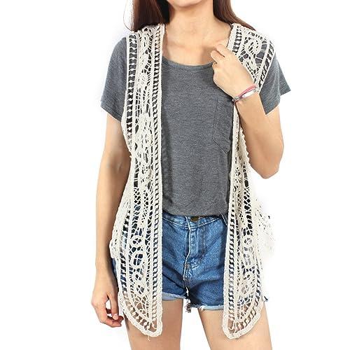 Crochet Vests Amazoncom