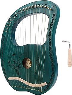 Stable Firm 16 String Harp, Lyre,Harp, Durable Elegant for Beginner Gift
