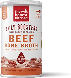 The Honest Kitchen Bone Broth - Natural Human Grade Functional Liquid Treat for Dogs & Cats