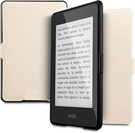 "Kindle Paperwhite Case, IVSO Ultra Slim Stand Cover Case for Amazon Kindle Paperwhite E-Reader 6"" (Gold)"